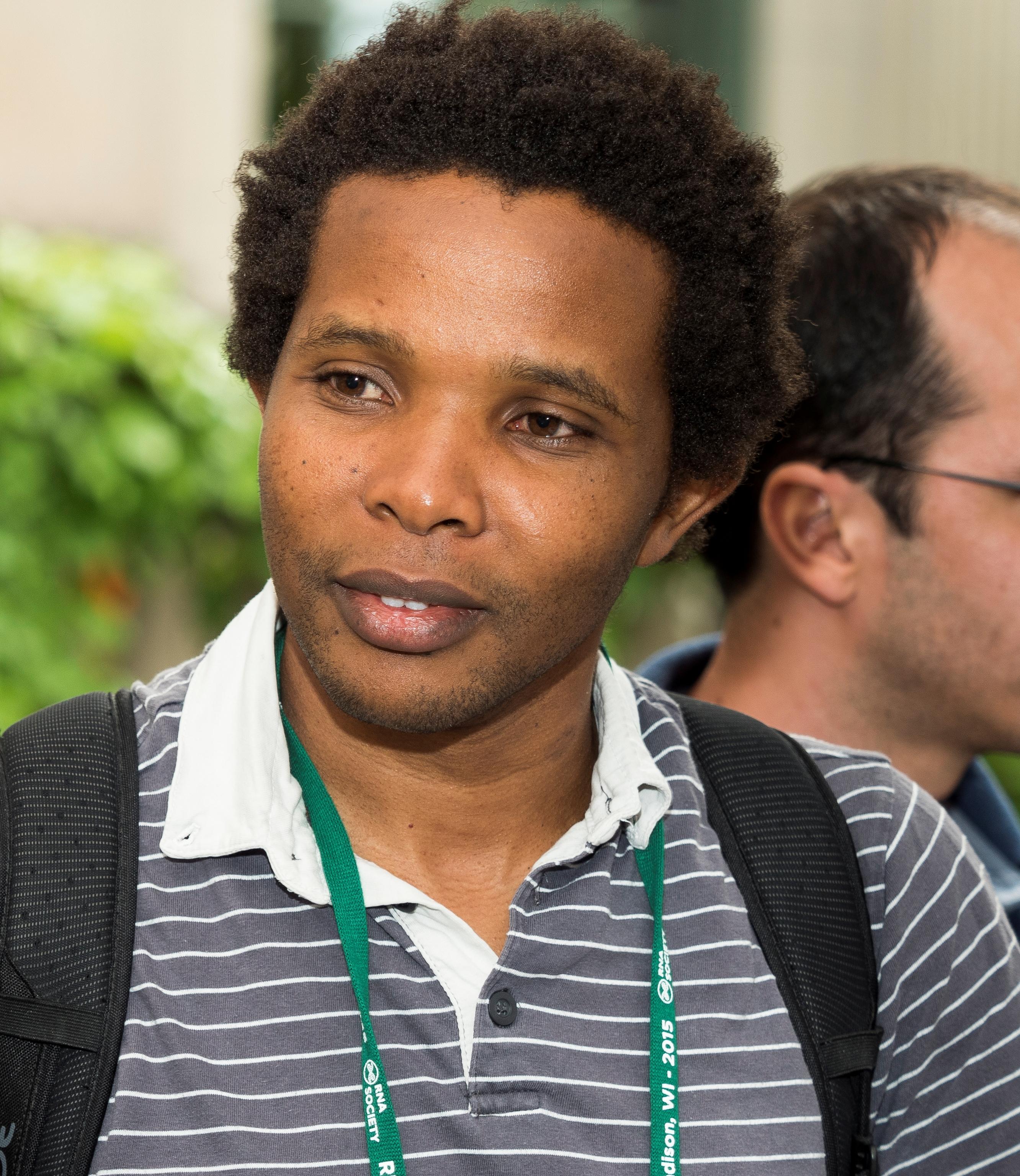 Elisha Mugo at RNA Society